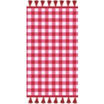 Covers & Co Badtextiel Dora - Rood