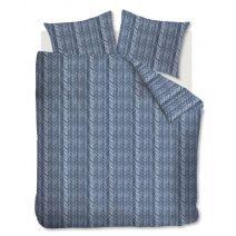 At Home dekbedovertrek Fold (Blue)