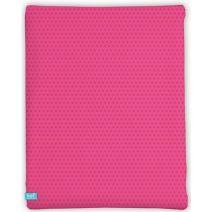 LIEF! Hoeslaken Pink Flower - 40x80 cm - Roze