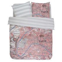 Covers & Co Dekbedovertrek Paris Citymap (Multi)