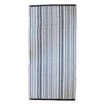 Aquanova Badlaken Stripes - 70x130 cm - Grey