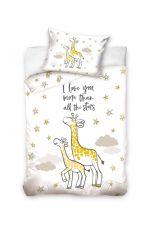 Baby Ledikant Overtrek Love You More (White)