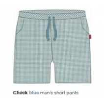 Marieke at Home Short Jackson (men) - Blauw