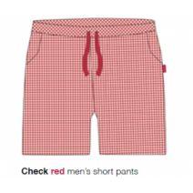 Marieke at Home Short Jackson (men) - Rood