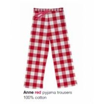 Marieke at Home Long Trouser Anne Check - Rood